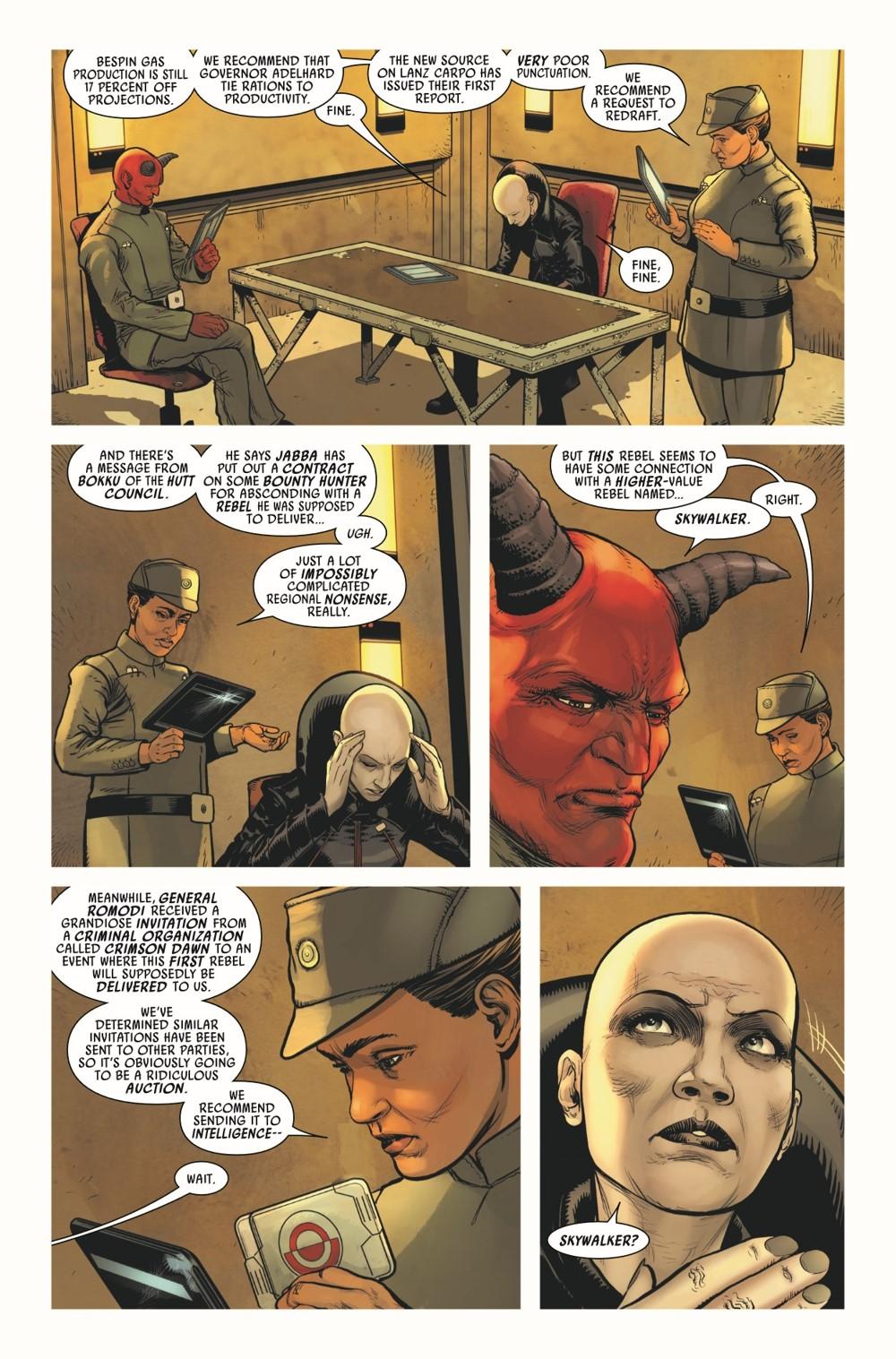 STWVADER2020014_Preview-6 ComicList Previews: STAR WARS DARTH VADER #14