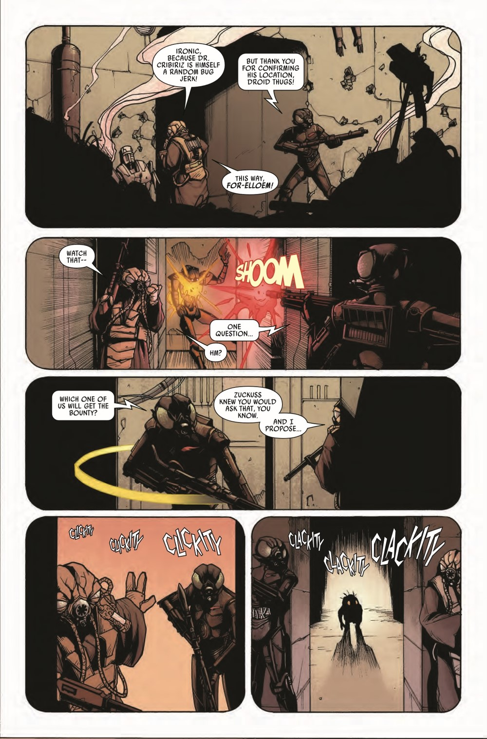 STWWAROTBH4LOMZUCK2021001_Preview-5 ComicList Previews: STAR WARS WAR OF THE BOUNTY HUNTERS 4-LOM AND ZUCKUSS #1