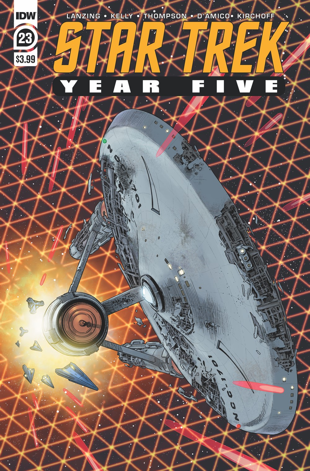 ST_YearFive23-cover ComicList Previews: STAR TREK YEAR FIVE #23