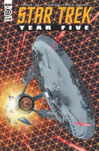 ST_YearFive23-cover-198x300 ComicList Previews: STAR TREK YEAR FIVE #23