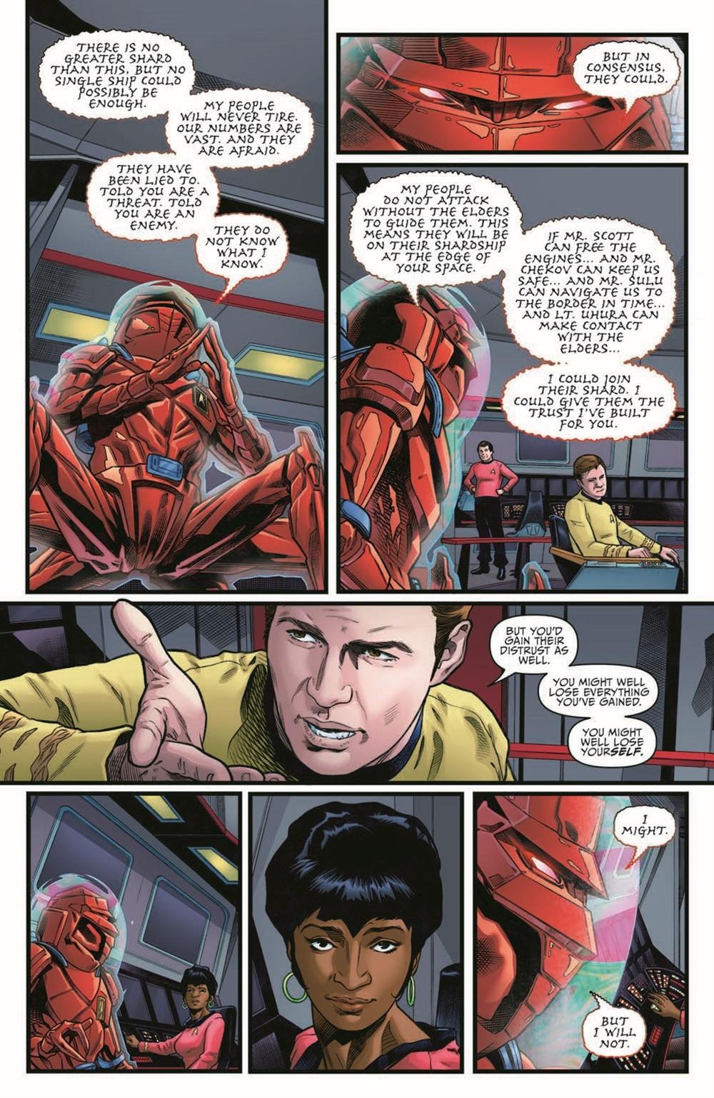 ST_YearFive23-pr-4 ComicList Previews: STAR TREK YEAR FIVE #23