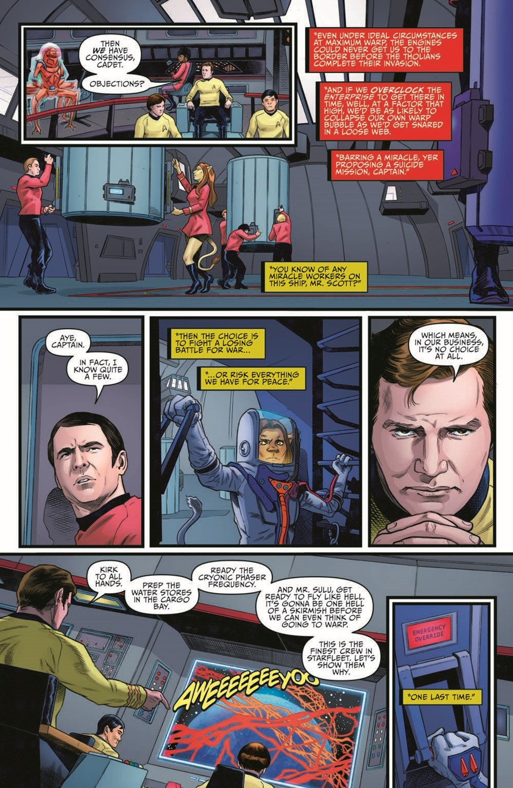 ST_YearFive23-pr-5 ComicList Previews: STAR TREK YEAR FIVE #23
