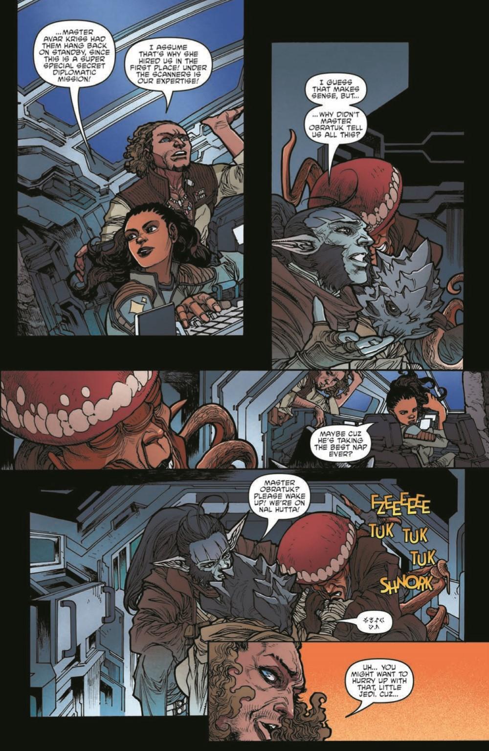 SWAHRA06-pr-5 ComicList Previews: STAR WARS THE HIGH REPUBLIC ADVENTURES #6