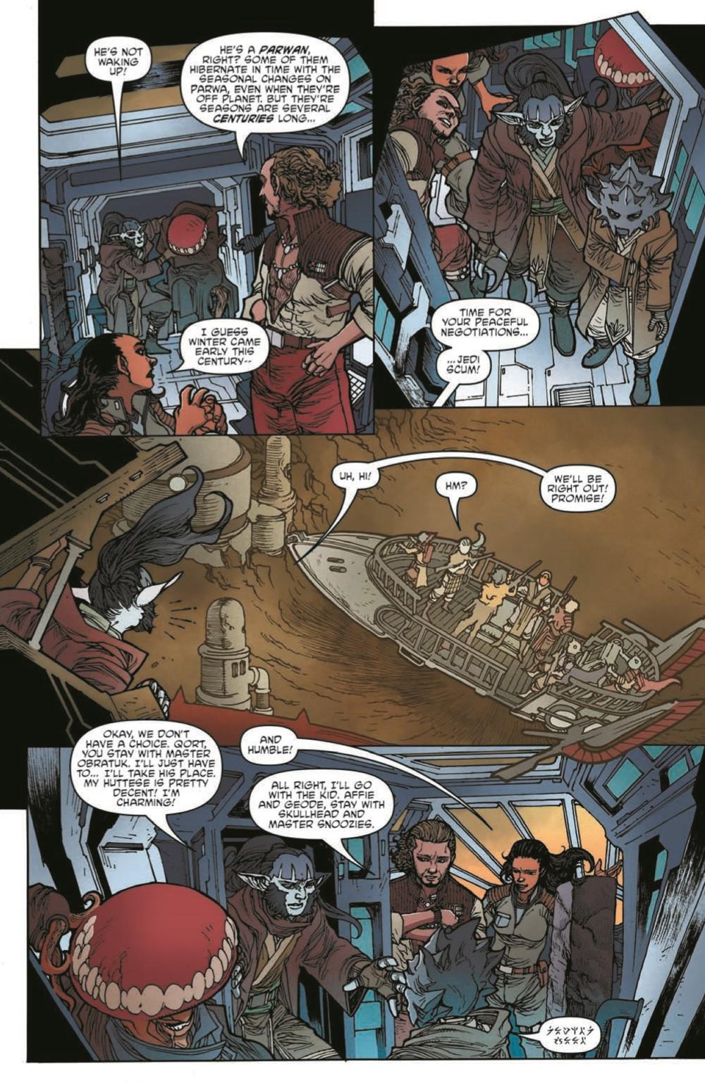 SWAHRA06-pr-7 ComicList Previews: STAR WARS THE HIGH REPUBLIC ADVENTURES #6
