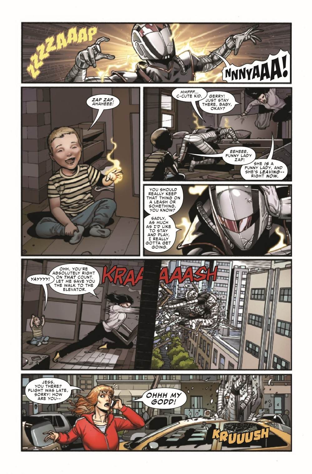 SWOMAN2020013_Preview-5 ComicList Previews: SPIDER-WOMAN #13