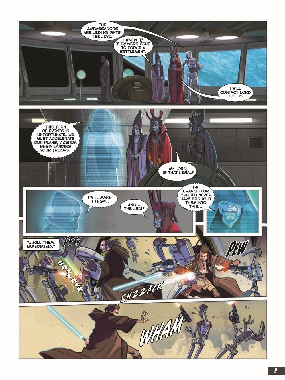 SW_The-Phantom-Menace_pr-5 ComicList Previews: STAR WARS THE PHANTOM MENACE GRAPHIC NOVEL ADAPTATION GN