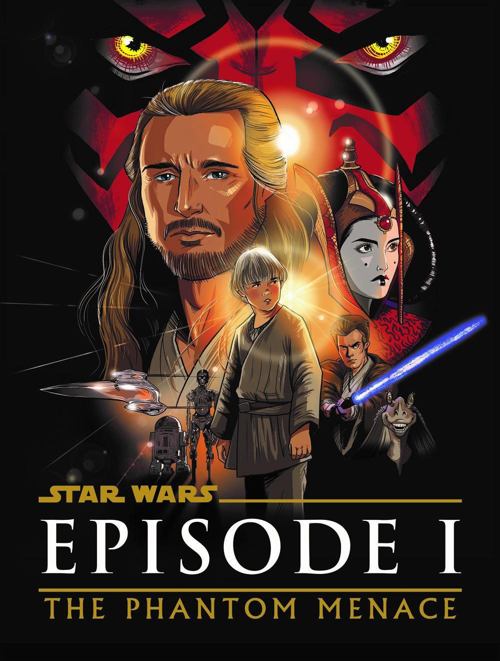 SW_ThePhantomMenace-mock ComicList Previews: STAR WARS THE PHANTOM MENACE GRAPHIC NOVEL ADAPTATION GN