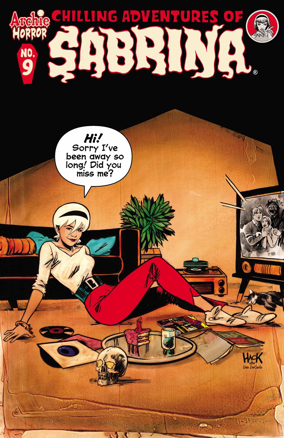 Sabrina9 Archie Comic Publications October 2021 Solicitations