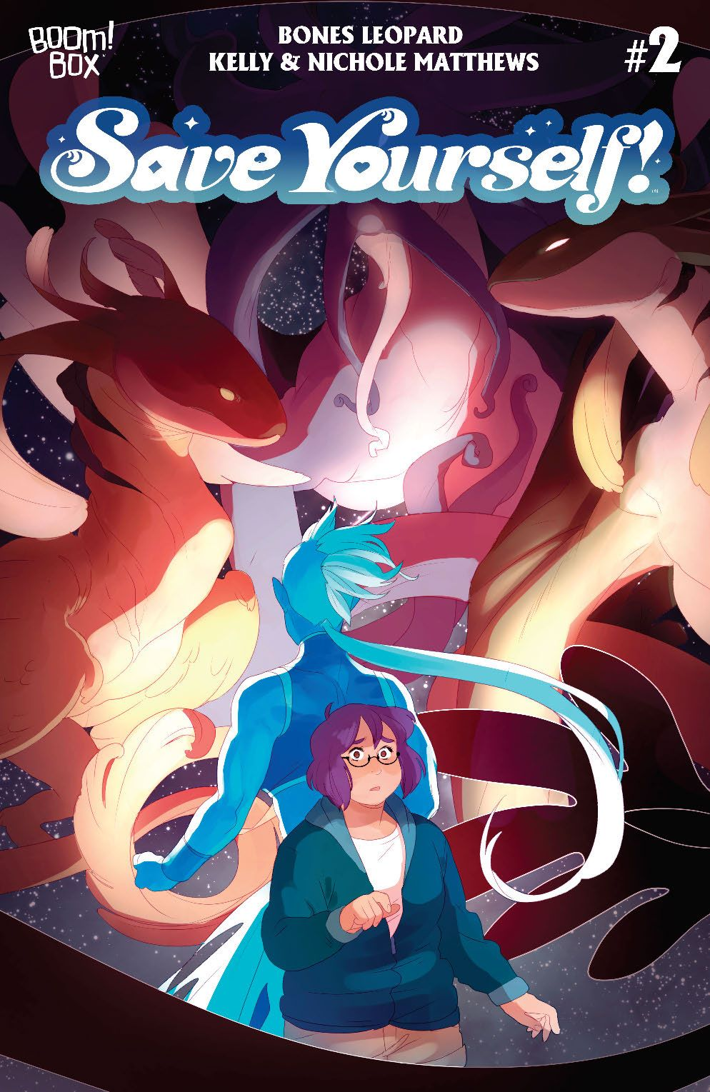 SaveYourself_002_Cover_A_Main ComicList: BOOM! Studios New Releases for 07/21/2021