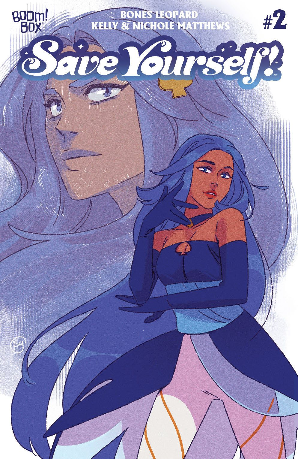 SaveYourself_002_Cover_B_MagicalGirlVariant ComicList Previews: SAVE YOURSELF #2 (OF 4)