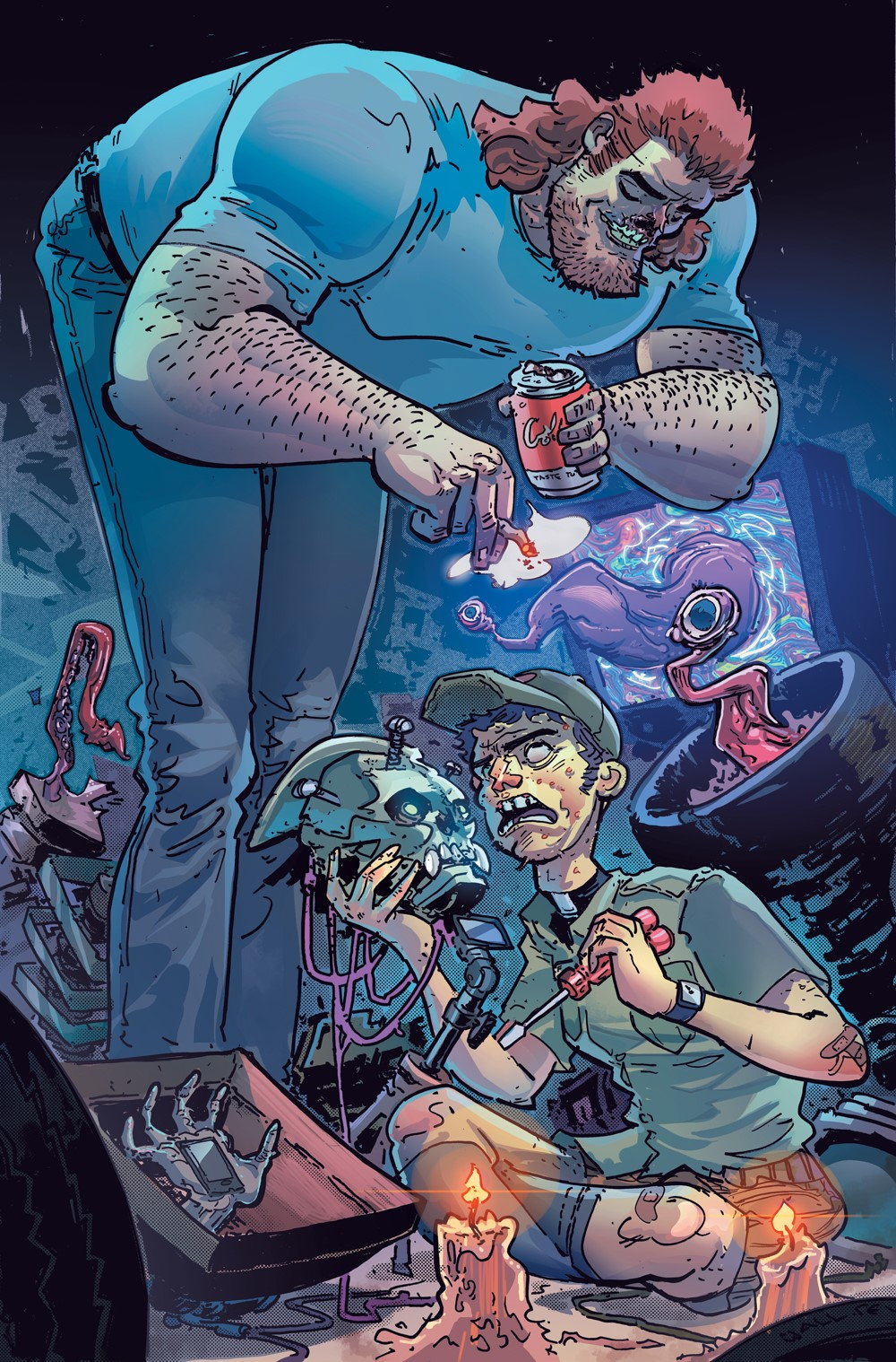 Soul-Plumbers-1_Variant-Cover-COL DC Comics October 2021 Solicitations