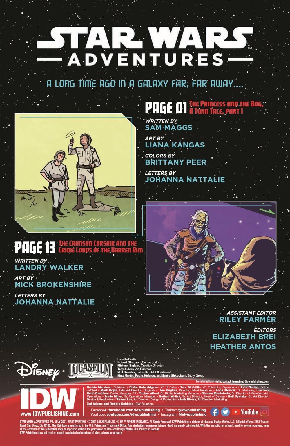 StarWarsAdv07-pr-2 ComicList Previews: STAR WARS ADVENTURES VOLUME 2 #7