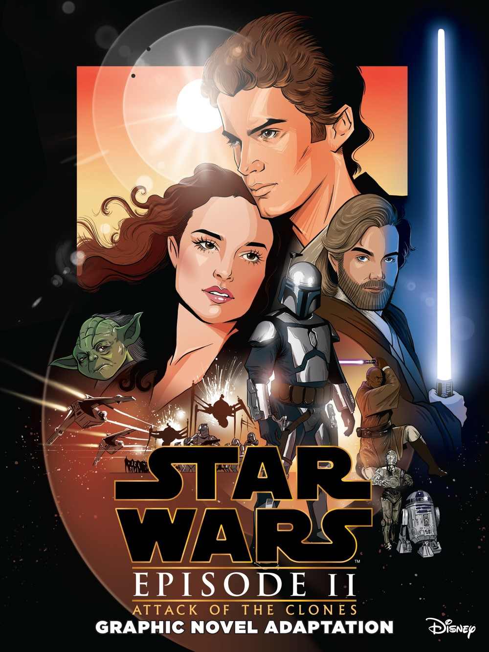 StarWars_II_AttackClones_Cover-1 IDW Publishing October 2021 Solicitations