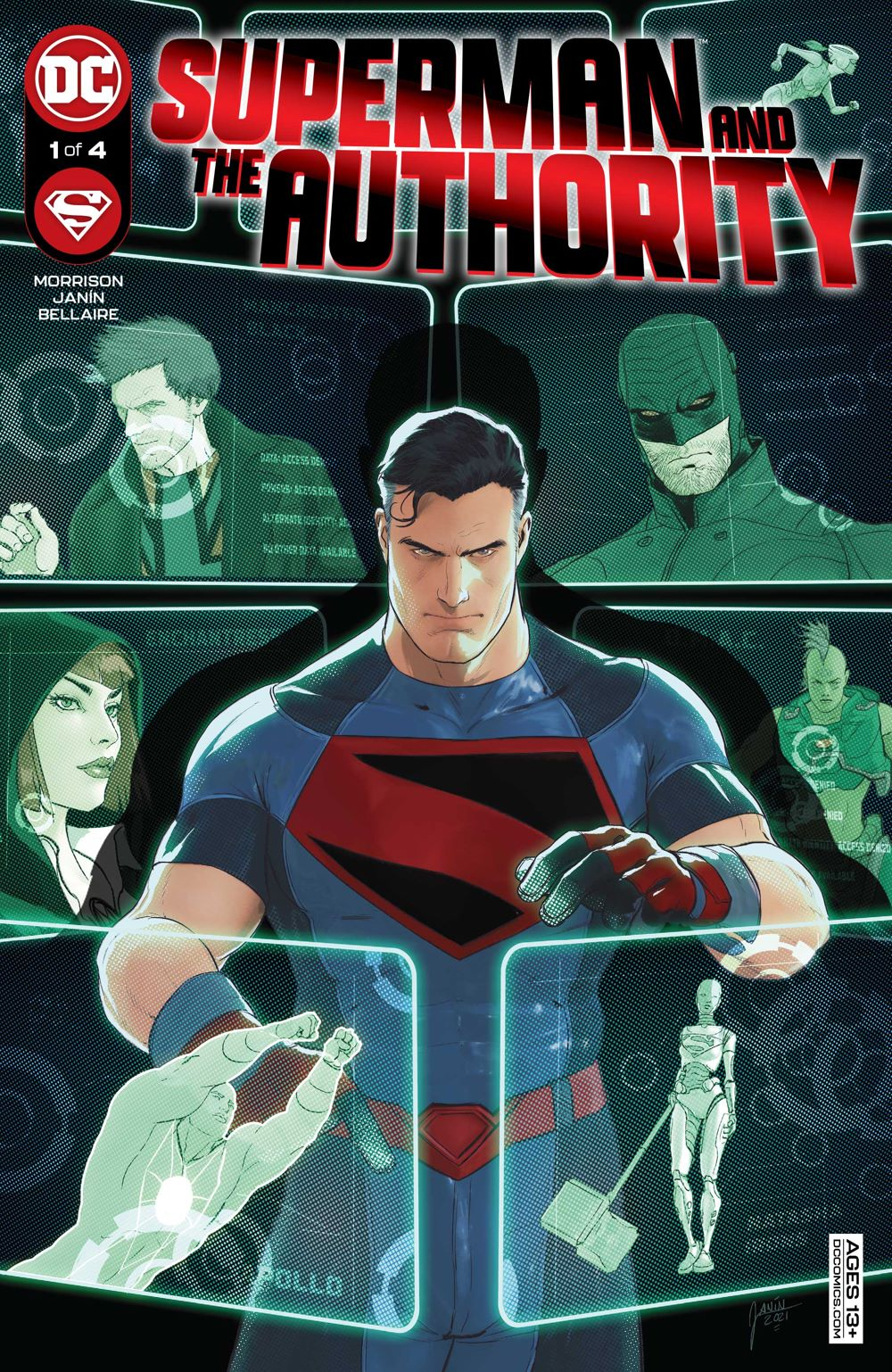Superman-and-the-Authority-1-1_60ee5e88817743.91847795 ComicList Previews: SUPERMAN AND THE AUTHORITY #1 (OF 4)
