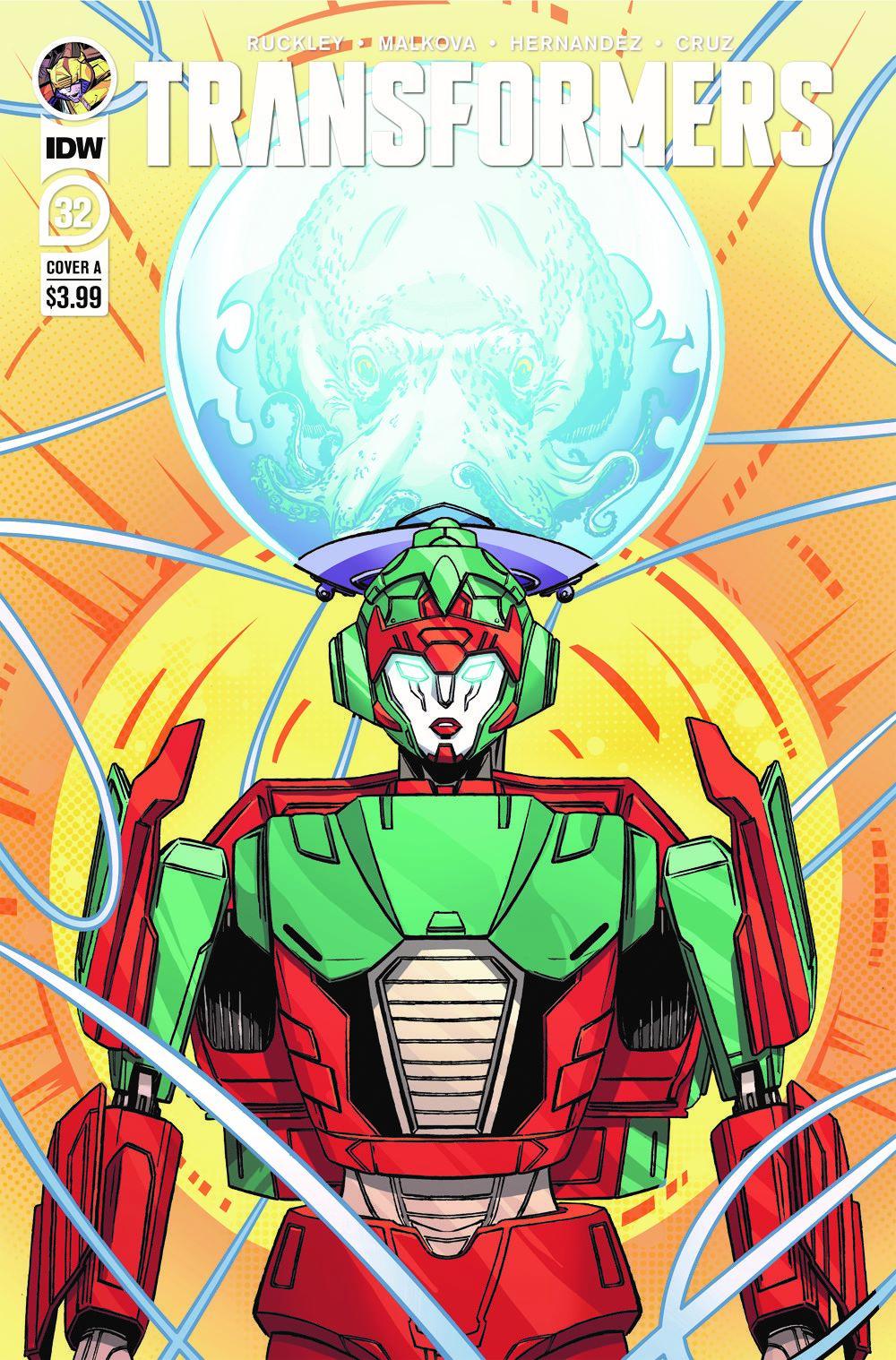 TF32-cvr-A ComicList Previews: TRANSFORMERS #32