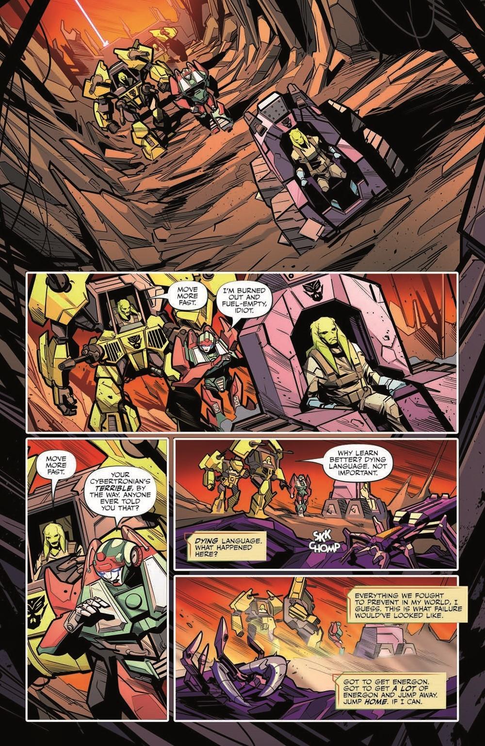 TF32-pr-6 ComicList Previews: TRANSFORMERS #32
