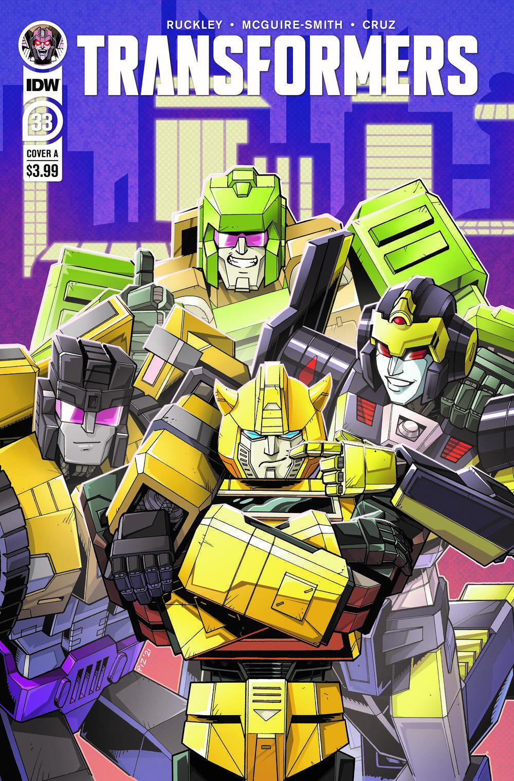 TF33-cvr-A ComicList Previews: TRANSFORMERS #33