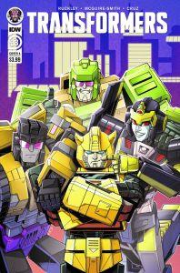 TF33-cvr-A-198x300 ComicList Previews: TRANSFORMERS #33
