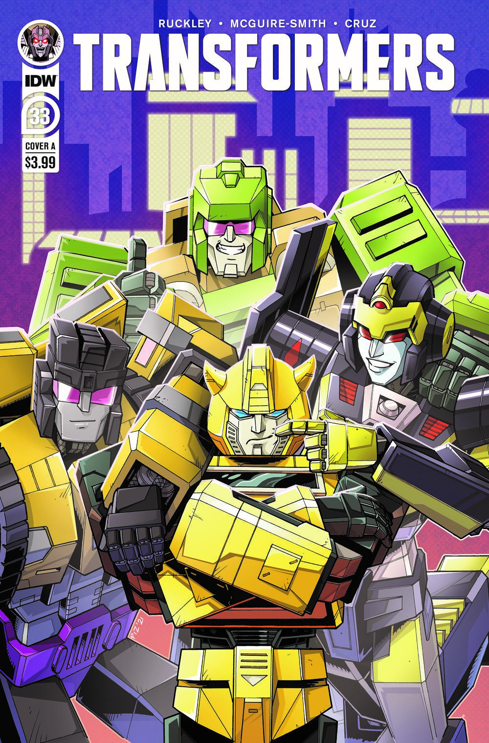 TF33-cvr-A ComicList: IDW Publishing New Releases for 08/04/2021