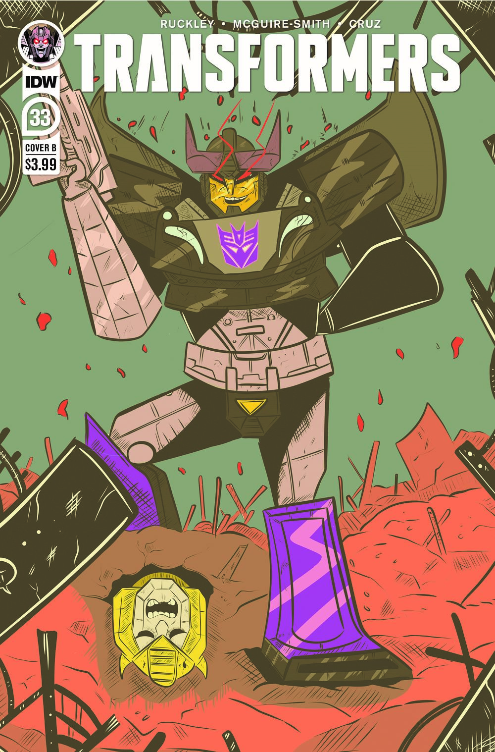 TF33-cvr-B ComicList Previews: TRANSFORMERS #33