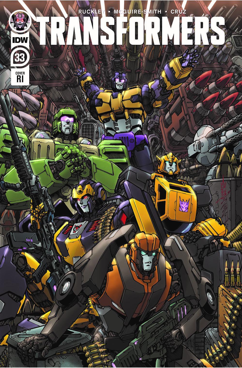 TF33-cvr-RI ComicList: IDW Publishing New Releases for 08/04/2021