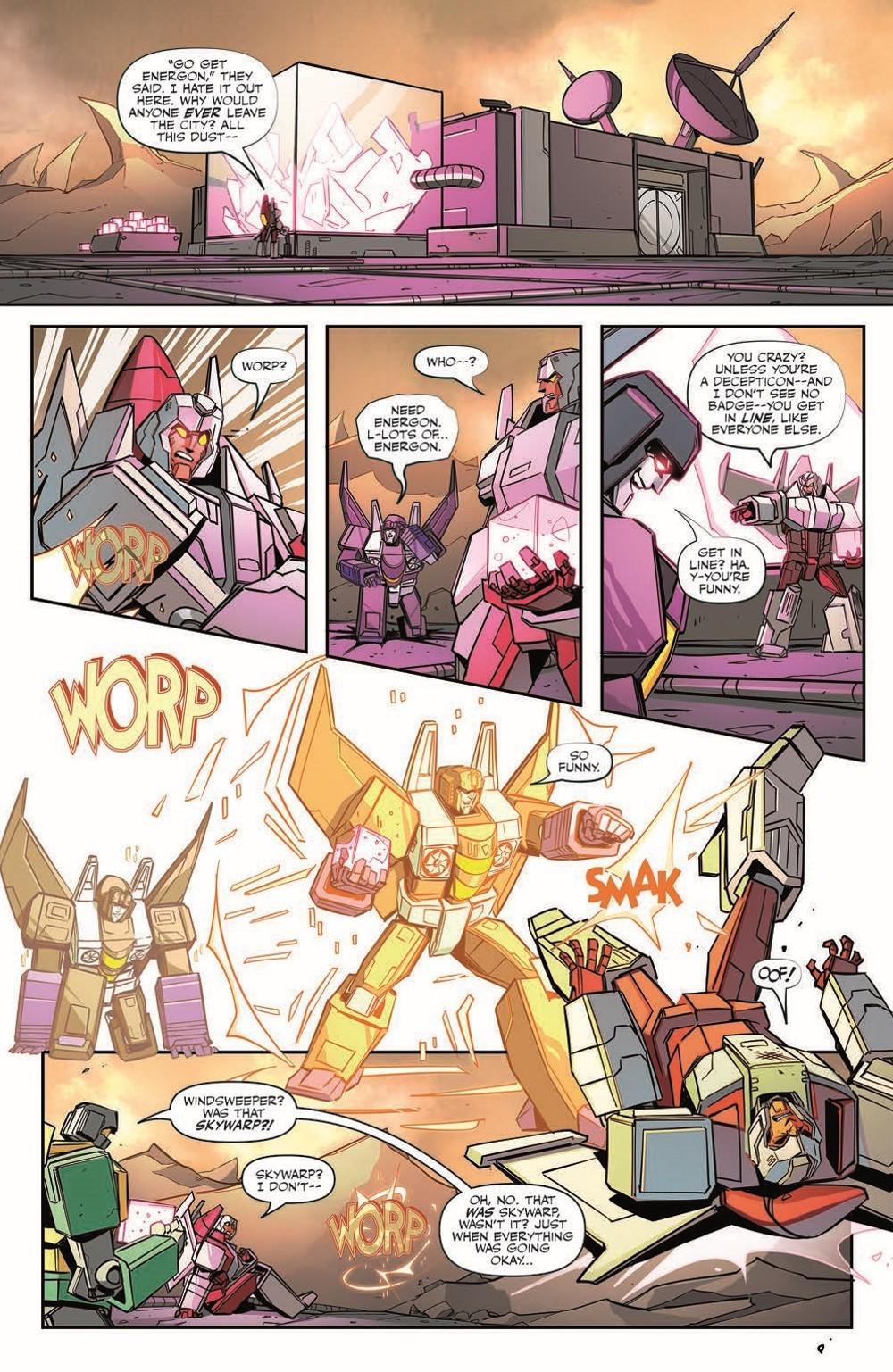 TF33-pr-6 ComicList Previews: TRANSFORMERS #33