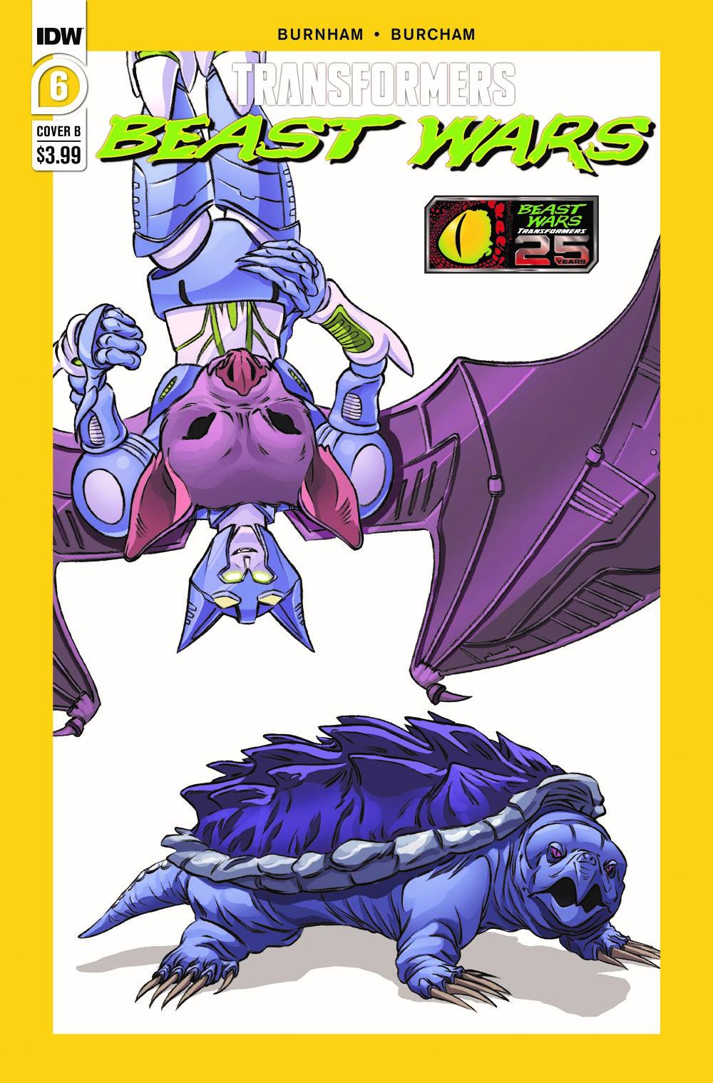 TFBW06-Cover-B ComicList Previews: TRANSFORMERS BEAST WARS #6