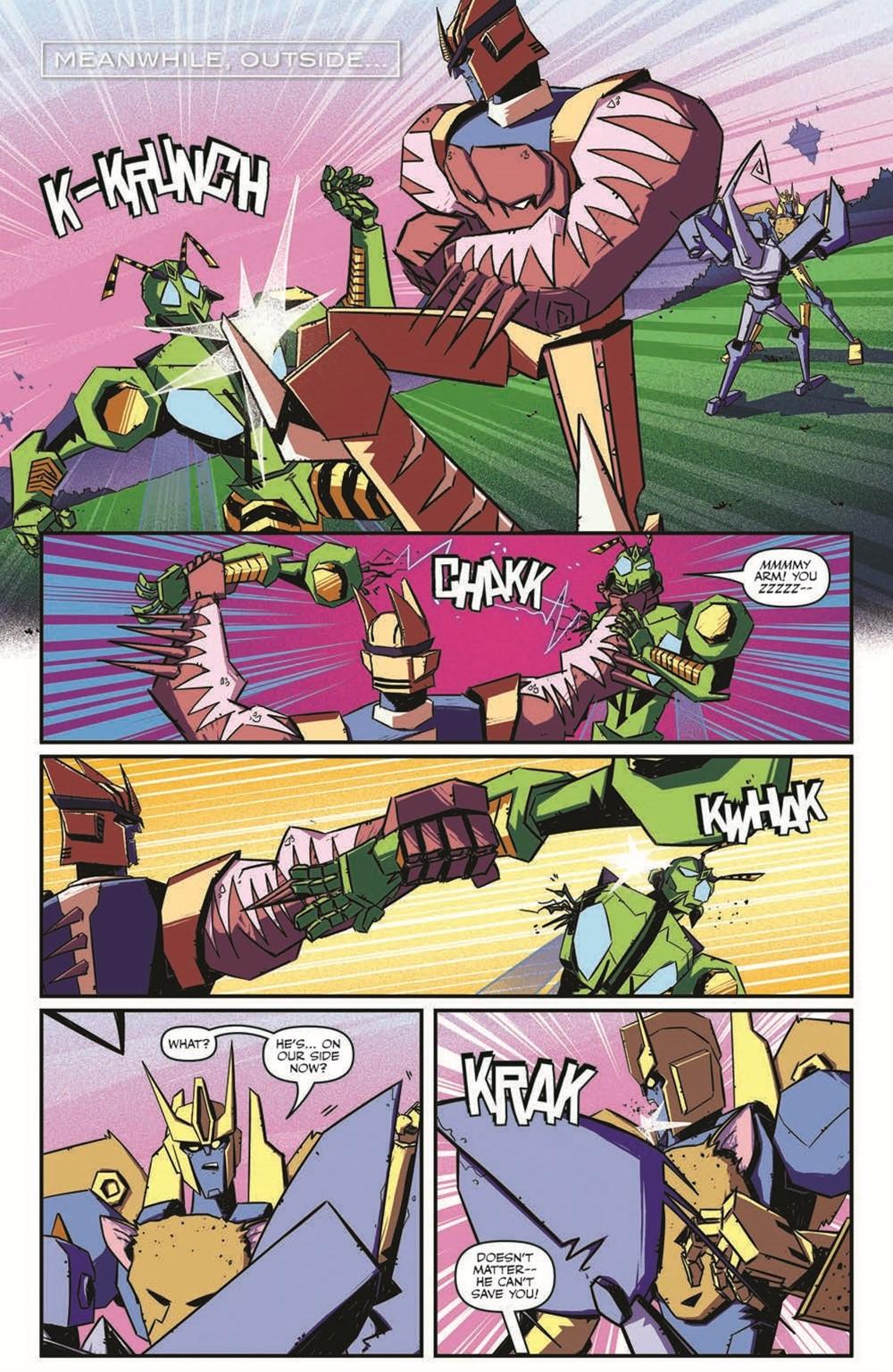 TFBW_06_pr-5 ComicList Previews: TRANSFORMERS BEAST WARS #6