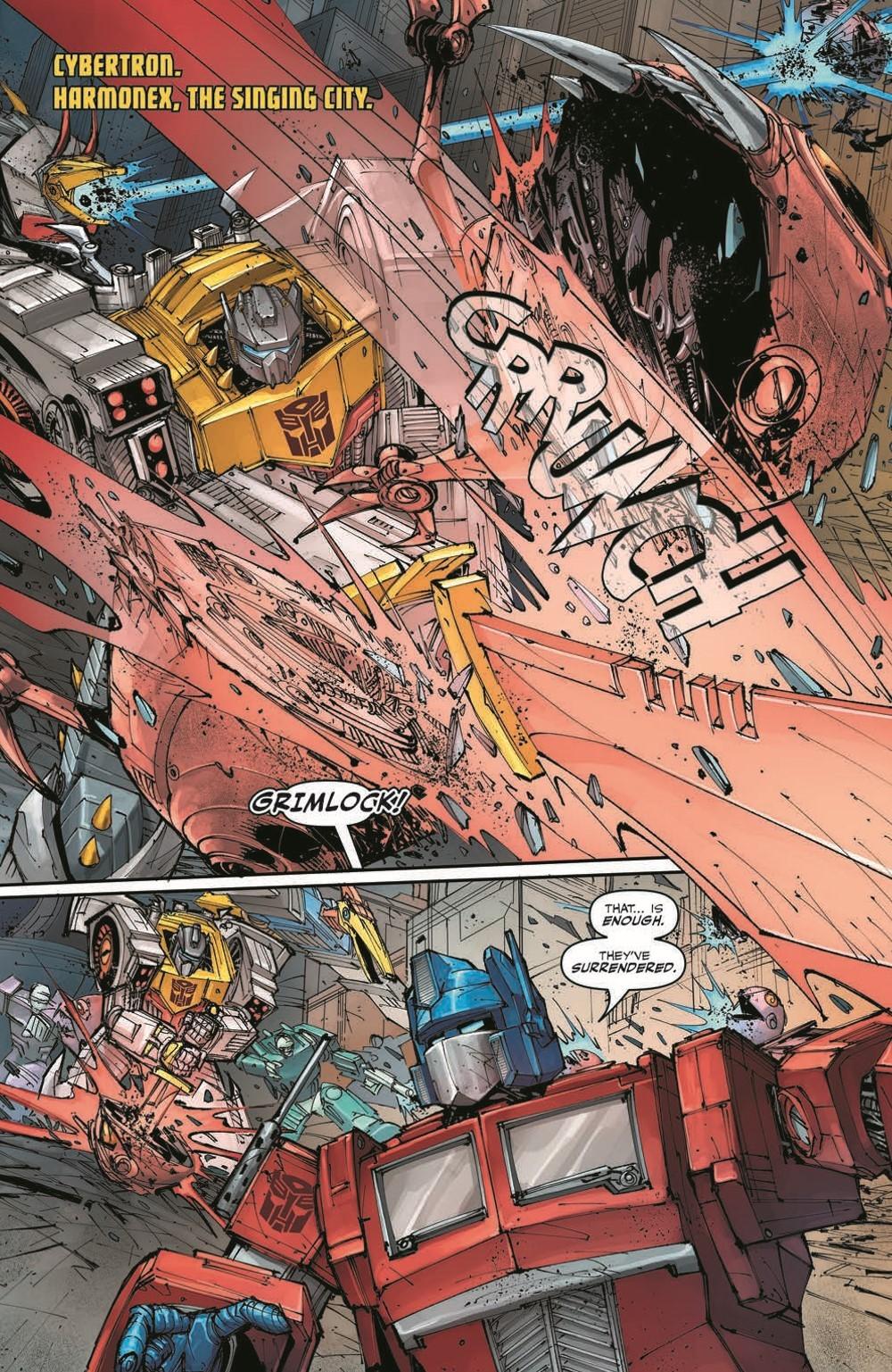 TFKingGrimlock01_pr-3 ComicList Previews: TRANSFORMERS KING GRIMLOCK #1 (OF 5)