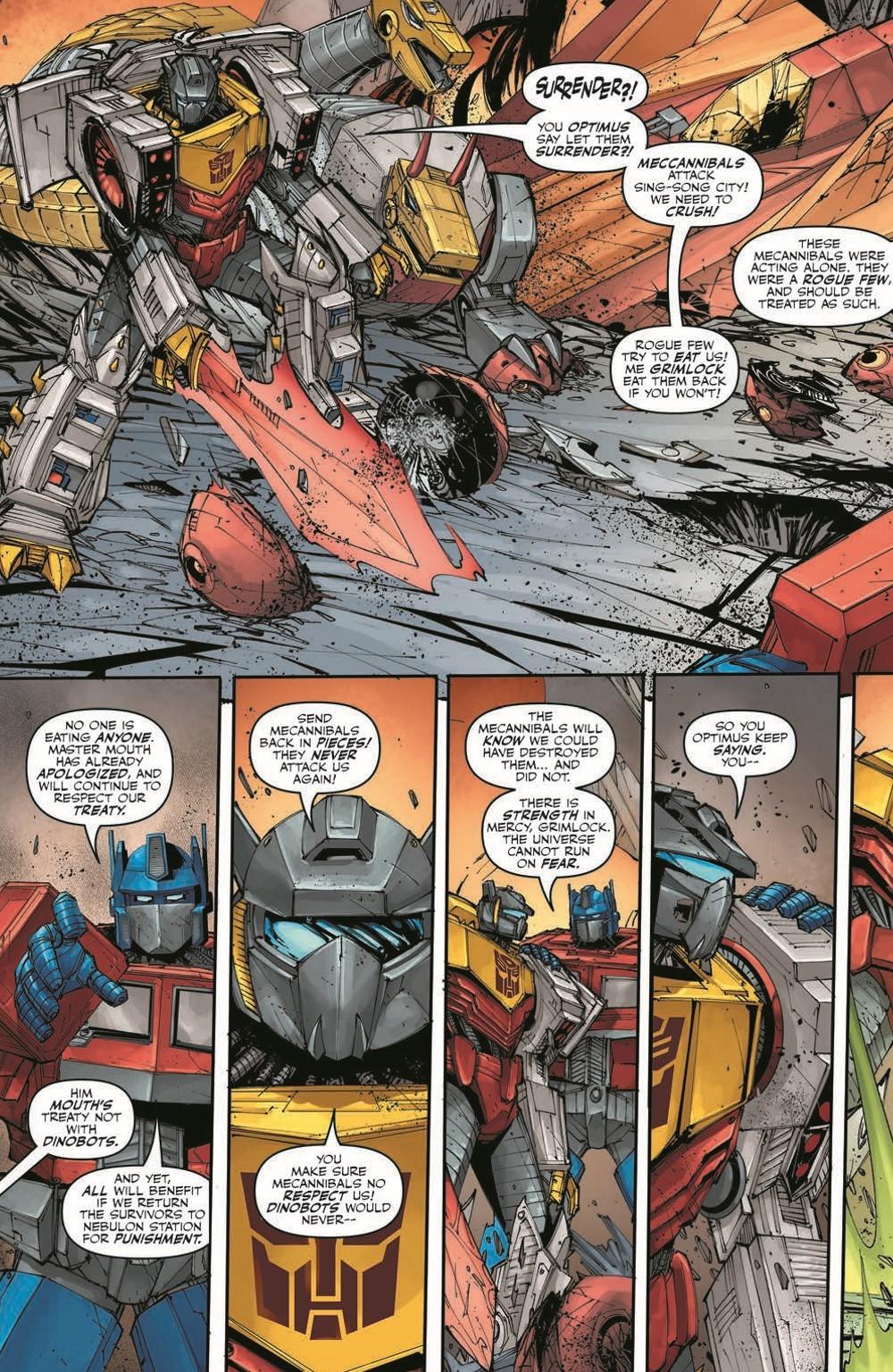 TFKingGrimlock01_pr-4 ComicList Previews: TRANSFORMERS KING GRIMLOCK #1 (OF 5)