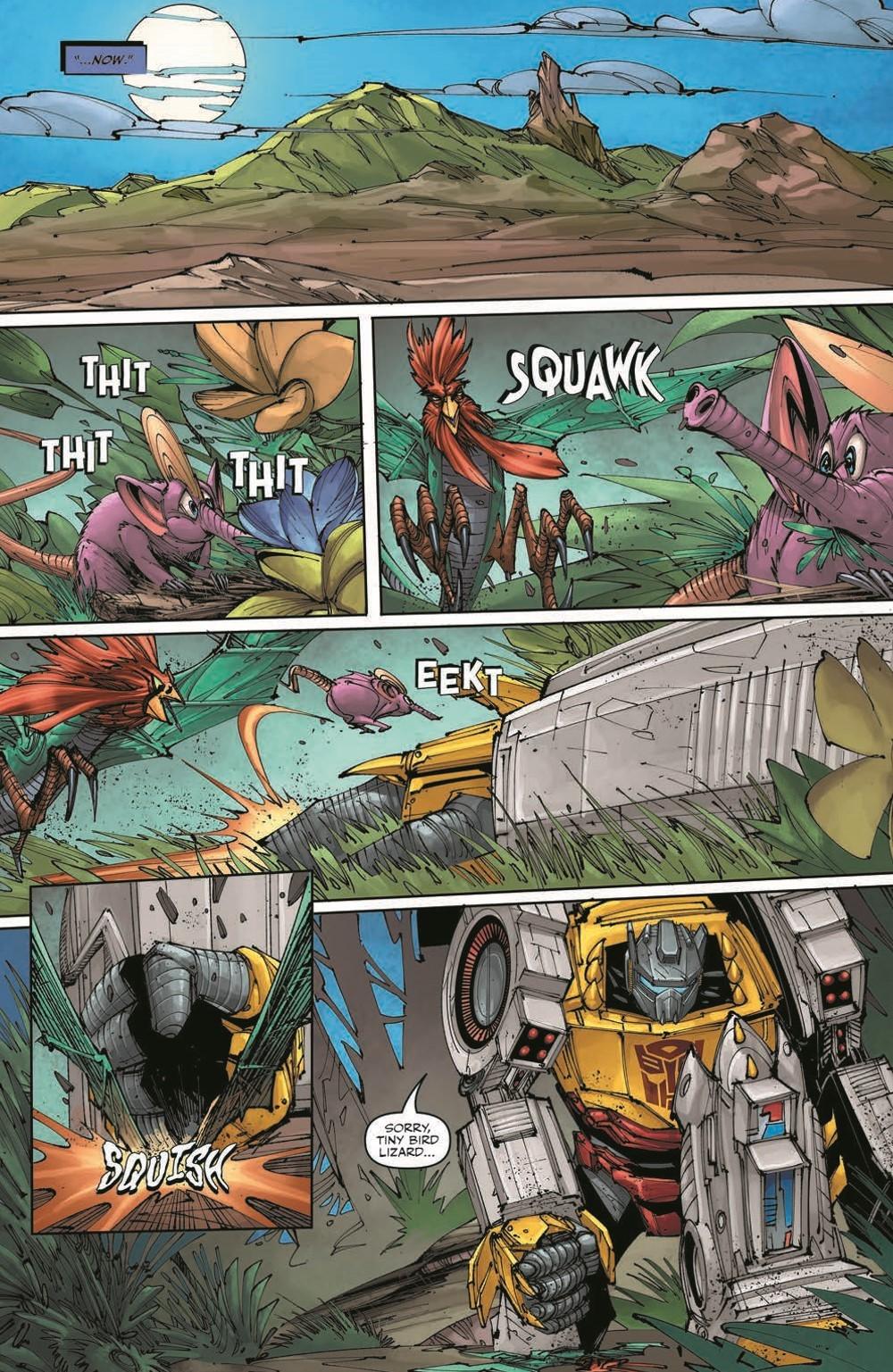 TFKingGrimlock01_pr-7 ComicList Previews: TRANSFORMERS KING GRIMLOCK #1 (OF 5)