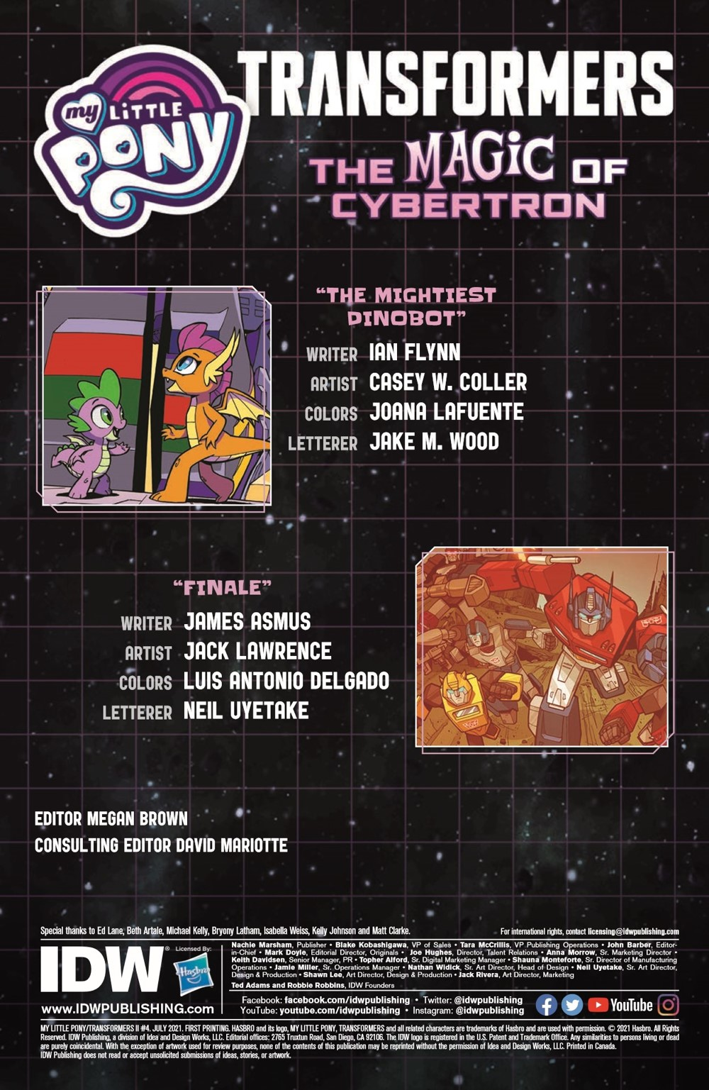 TFMLP2-04-pr-2 ComicList Previews: MY LITTLE PONY TRANSFORMERS II #4 (OF 4)