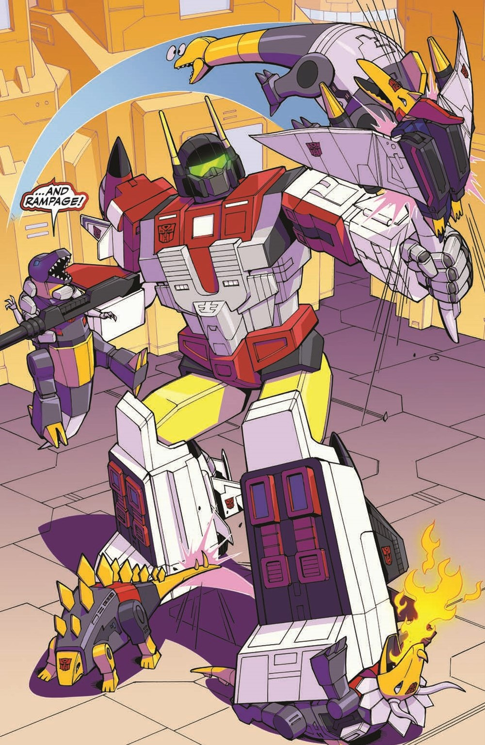 TFMLP2-04-pr-7 ComicList Previews: MY LITTLE PONY TRANSFORMERS II #4 (OF 4)