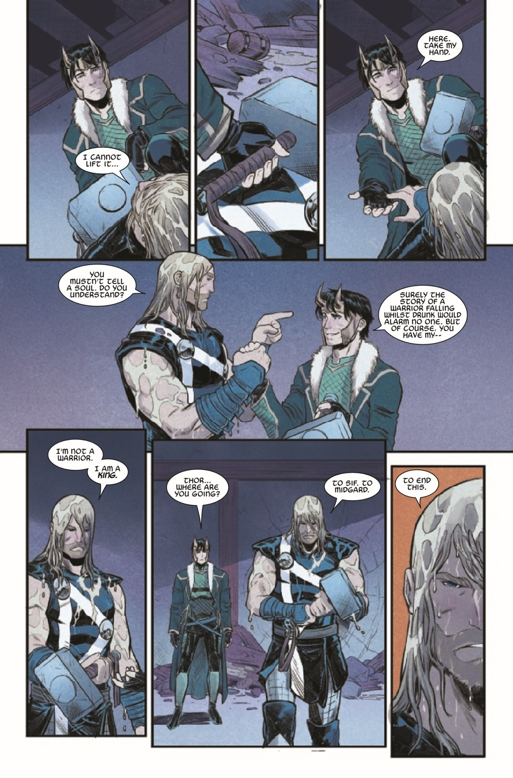 THOR2020015_Preview-5 ComicList Previews: THOR #15