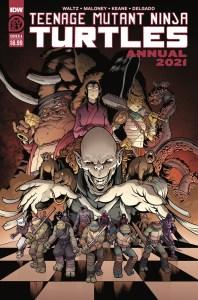 TMNT-Annual2021_cvrA-198x300 ComicList Previews: TEENAGE MUTANT NINJA TURTLES ANNUAL 2021
