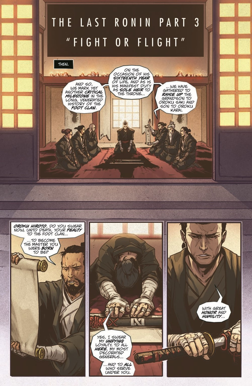 TMNT-LastRonin03_2nd_pr-3 ComicList Previews: TEENAGE MUTANT NINJA TURTLES THE LAST RONIN #3 (OF 5)(2ND PRINTING)