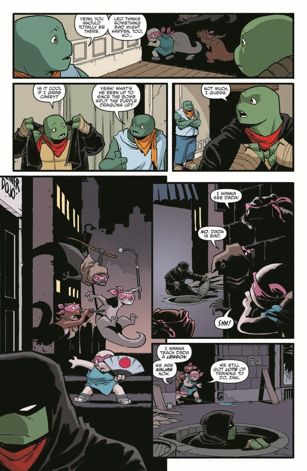 TMNT119_pr-4 ComicList Previews: TEENAGE MUTANT NINJA TURTLES #119