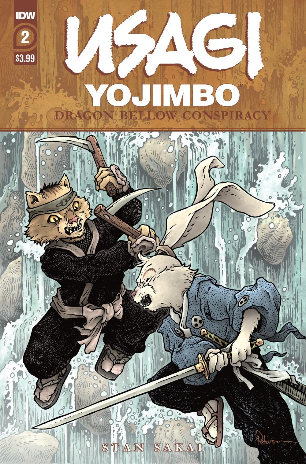 Usagi-DBC02_cvrA ComicList Previews: USAGI YOJIMBO THE DRAGON BELLOW CONSPIRACY #2 (OF 6)