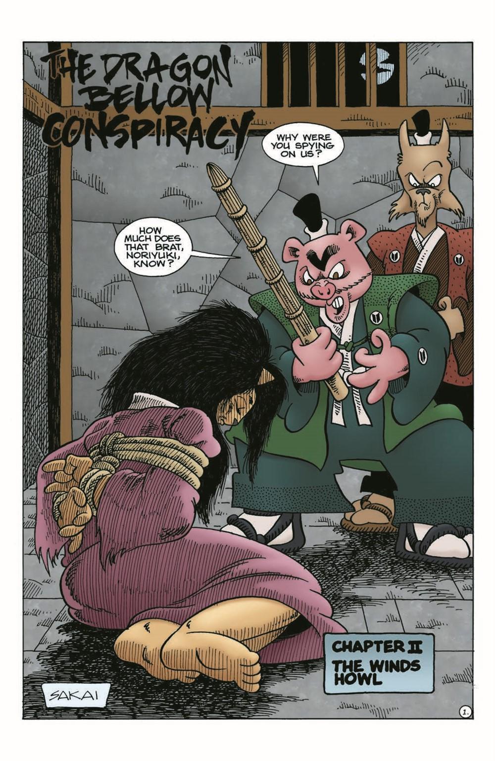 Usagi-DBC02_pr-3 ComicList Previews: USAGI YOJIMBO THE DRAGON BELLOW CONSPIRACY #2 (OF 6)