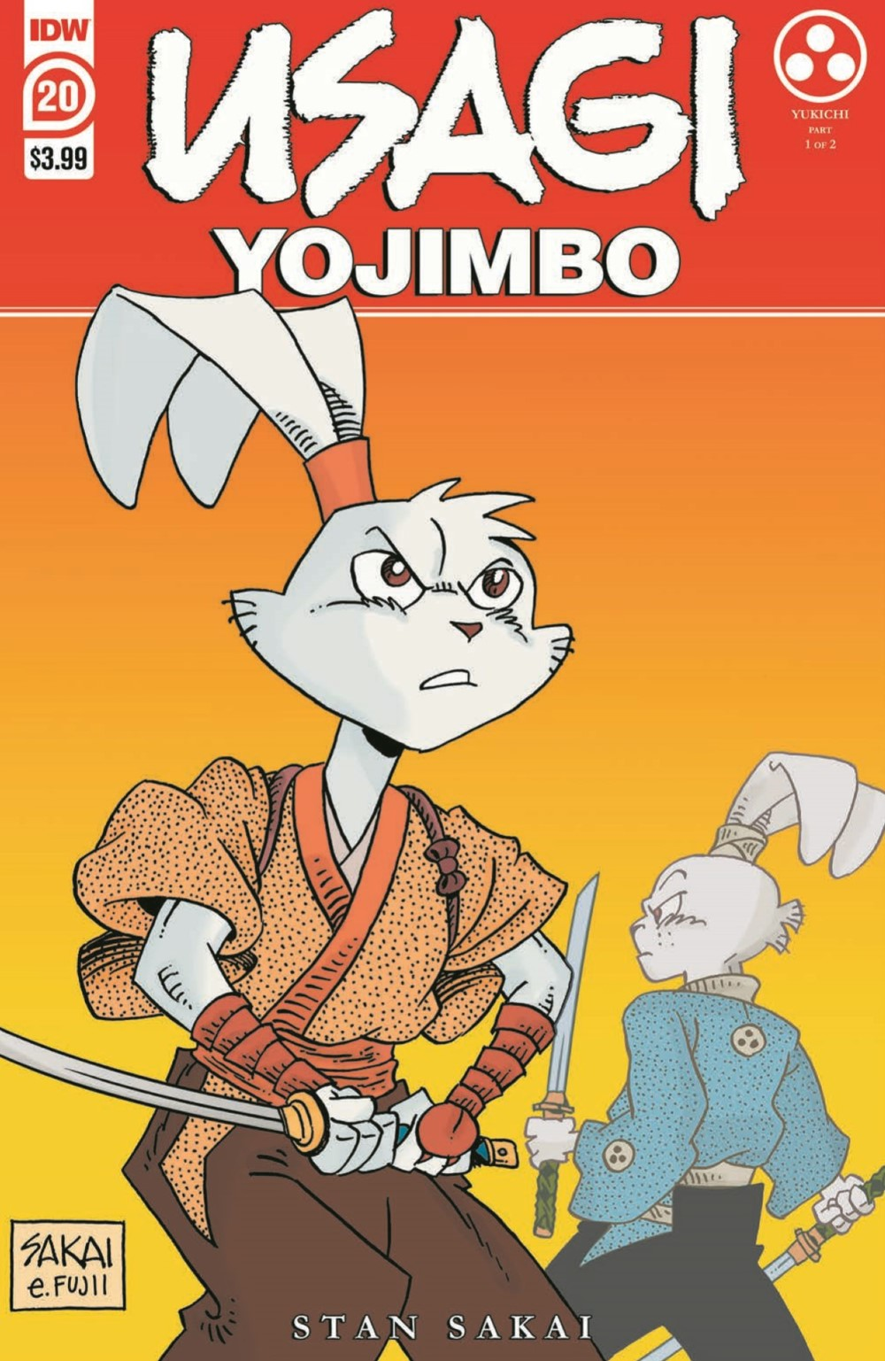 Usagi20_2nd_pr-1 ComicList: IDW Publishing New Releases for 07/28/2021