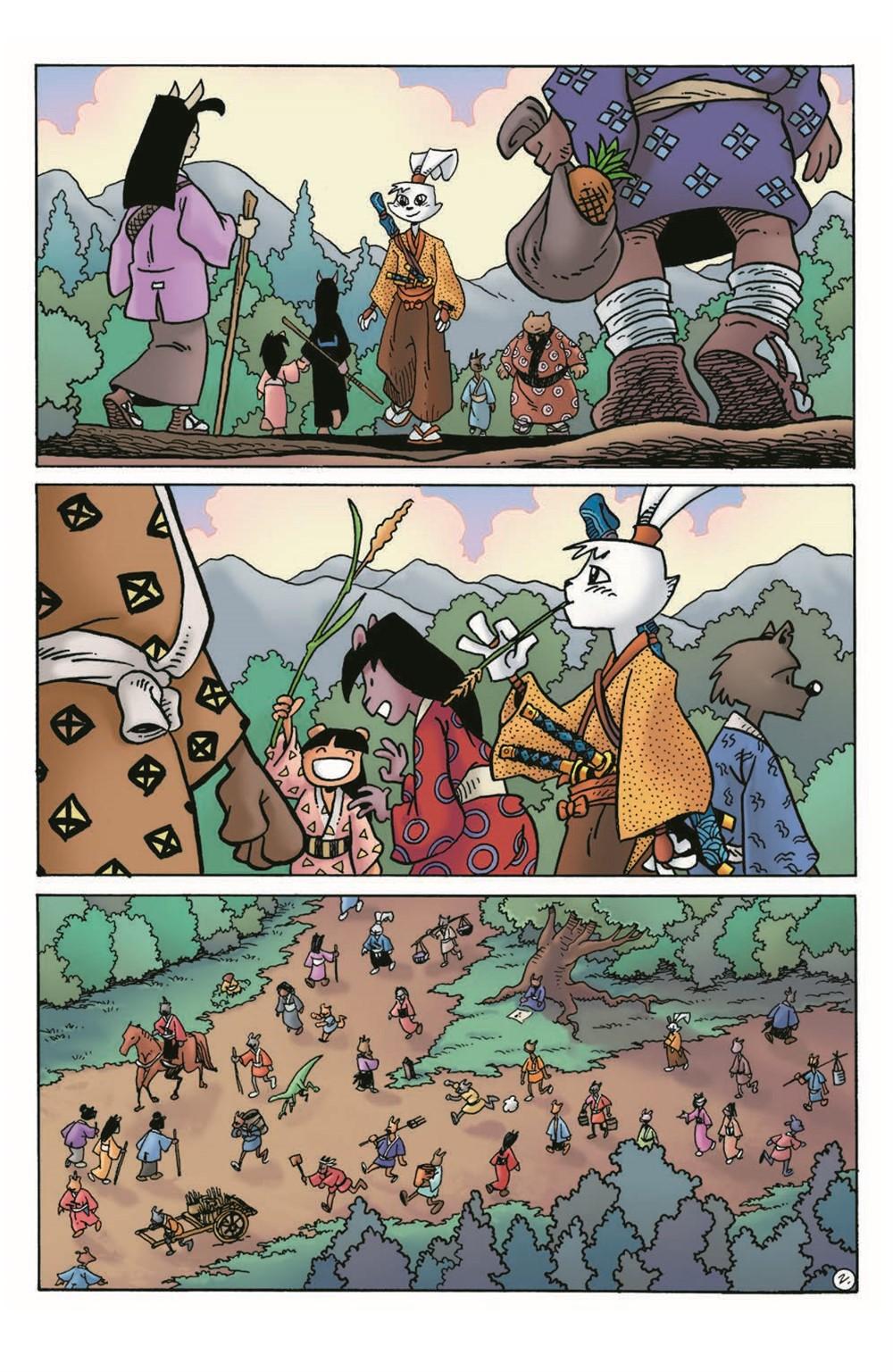 Usagi20_2nd_pr-4 ComicList Previews: USAGI YOJIMBO #20 (2ND PRINTING)