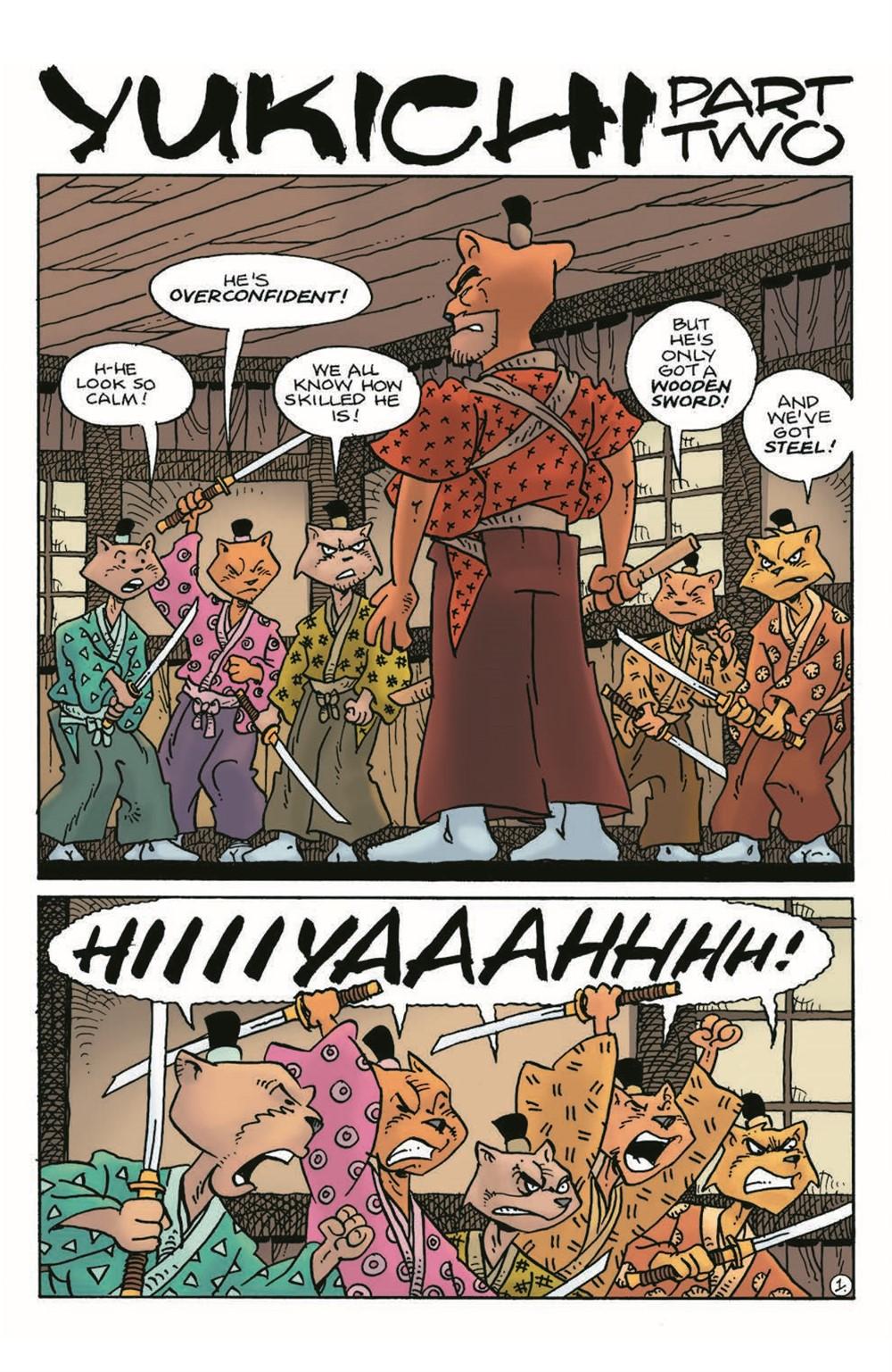 Usagi21_pr-3 ComicList Previews: USAGI YOJIMBO #21