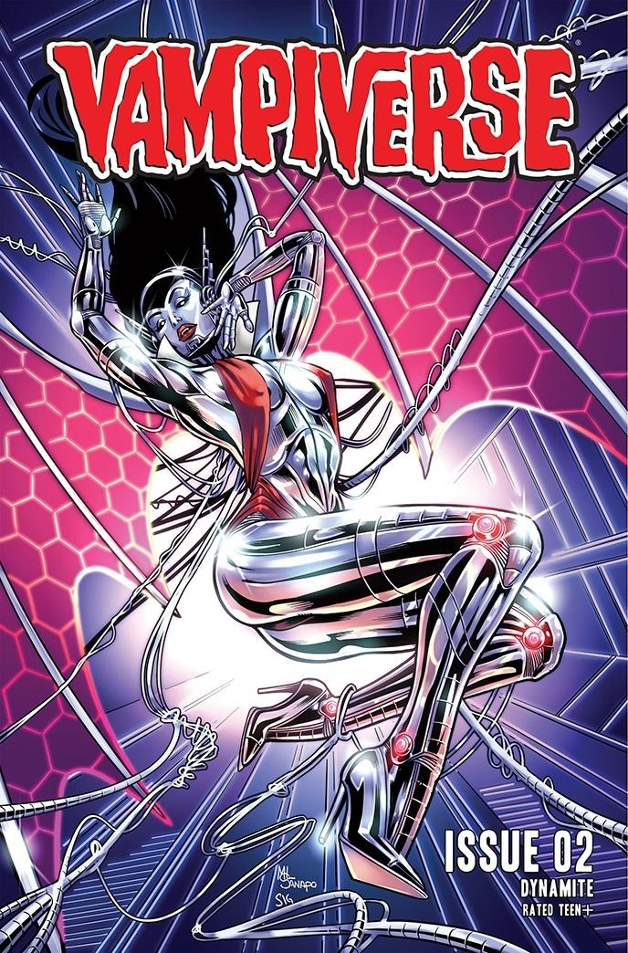 Vampiverse-02-02031-C-Sanapo-1 Dynamite Entertainment October 2021 Solicitations