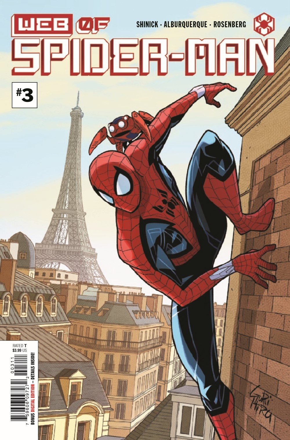 WEBOFSM2020003_Preview-1 ComicList Previews: W.E.B. OF SPIDER-MAN #3 (OF 5)