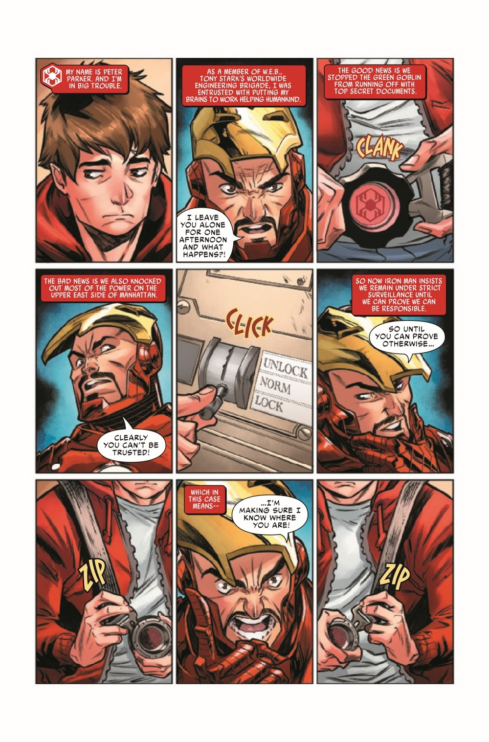 WEBOFSM2020003_Preview-3 ComicList Previews: W.E.B. OF SPIDER-MAN #3 (OF 5)