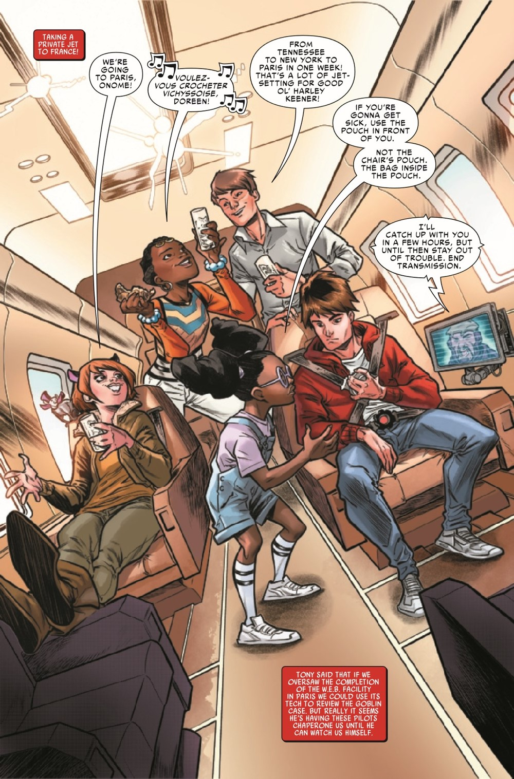 WEBOFSM2020003_Preview-4 ComicList Previews: W.E.B. OF SPIDER-MAN #3 (OF 5)