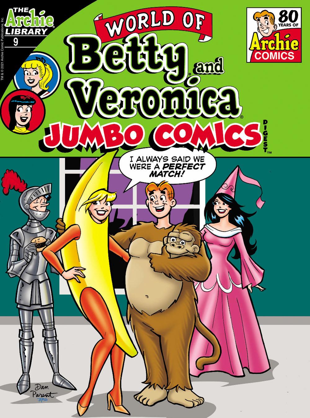 WOBVJumbo9 Archie Comic Publications October 2021 Solicitations