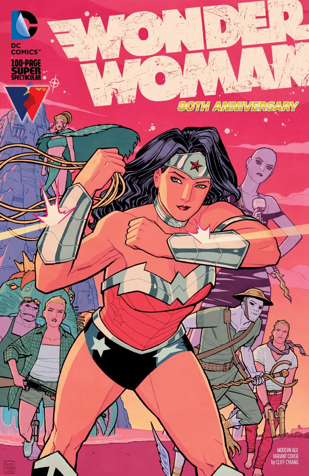WW80THANN_Cv1_Modern_Age_var_00191 DC Comics October 2021 Solicitations