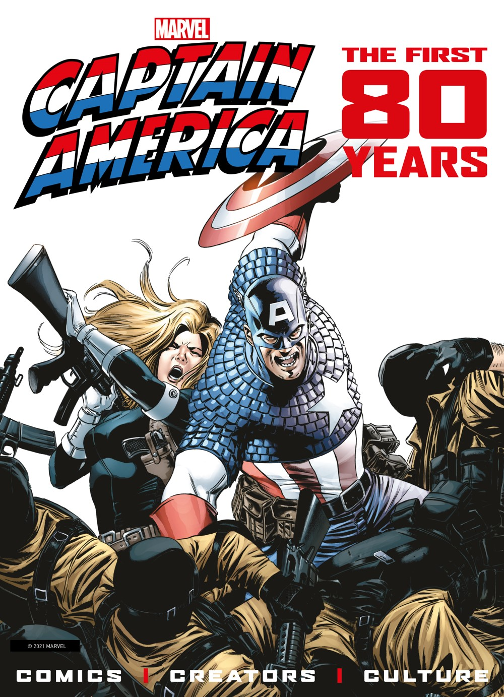 exclusive2 ComicList Previews: MARVEL COMICS CAPTAIN AMERICA THE FIRST 80 YEARS