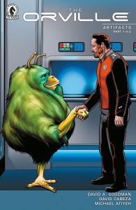 orvilleartcov-195x300 The Orville comics saga continues in THE ORVILLE: ARTIFACTS